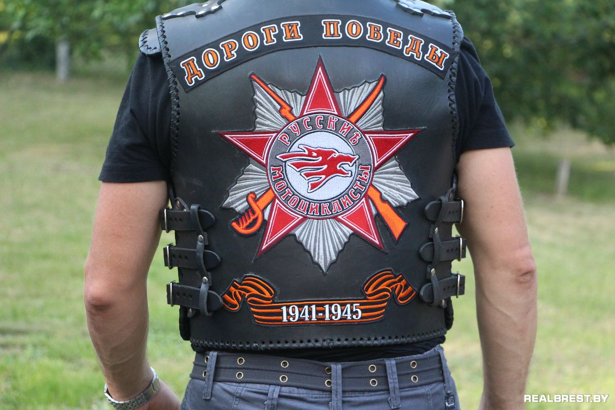 Русские мотоциклисты картинка